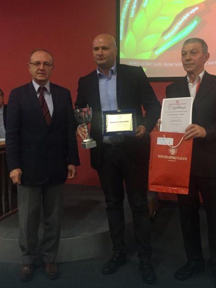 Kompaniji Interproduct nagrada za vrhunski kvalitet suhomesnatih proizvoda
