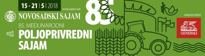 85. Međunarodni poljoprivredni sajam, Novi Sad